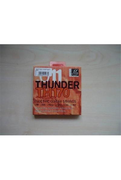 Galli Th170 Thunder 011 Elektro Gitar Teli