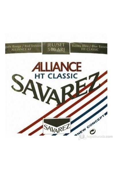 Savarez 540ARJ Rouge Blue Hard Tension Classic Klasik Gitar Teli