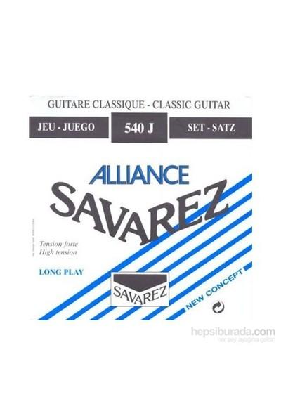 Savarez 540J Alliance Hard Tension Classic Blue Klasik Gitar Teli