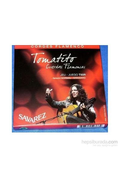 Savarez T50R Tomatito Normal Tension Flamenco Gitar Teli