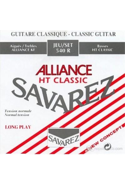 Savarez 540R Alliance/Ht Classic Rouge Klasik Gitar Teli