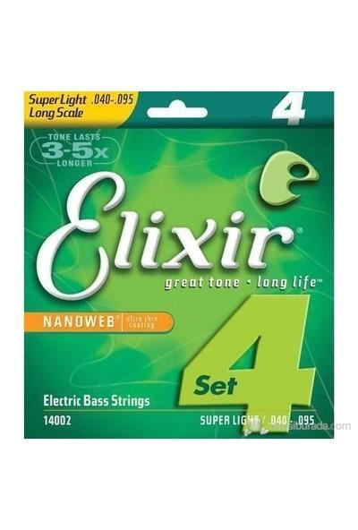 Elixir 040-095 Bas Gitar Teli