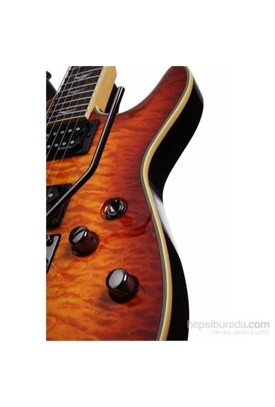 Schecter Omen Extreme 6 FR Elektro Gitar (Vintage Sunburst)