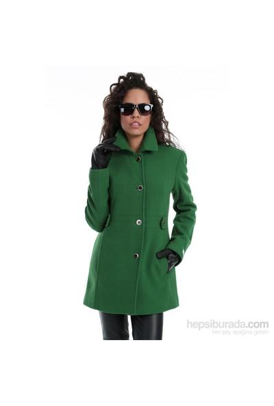 Calvin Klein Kadın Kaban Yeşil