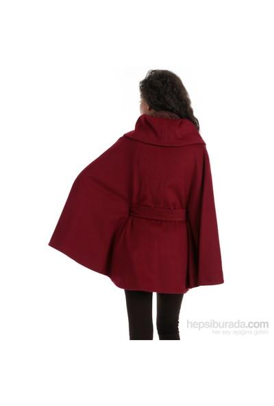 Calvin Klein Kadın Kaban Kırmızı