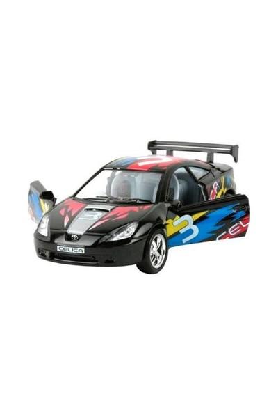 Diecast Toyota Celica Street Fighter Çek Bırak 1/36 Die Cast Model Araç