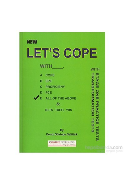 Carmine New Let's Cope