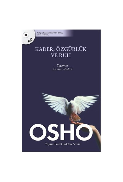 Kader, Özgürlük ve Ruh (Dvd'li) - Osho (Bhagwan Shree Rajneesh)