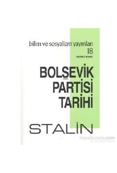 Bolşevik Partisi Tarihi-Josef V. Stalin