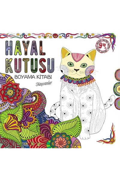 Hayal Kutusu Boyama Kitabı: Hayvanlar-Kolektif