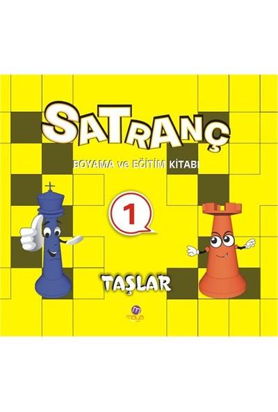 Satranç Boyama Kitabı 1-Kolektif
