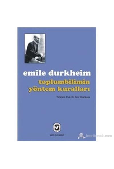 Toplumbiliminde Yöntem Kuralları-Emile Durkheim