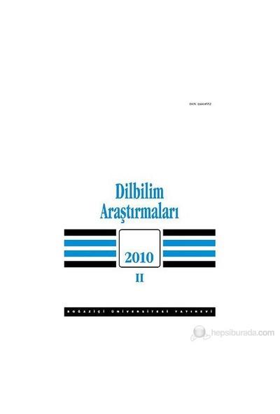 Dilbilim Araştırmaları 2010/2-Kolektif