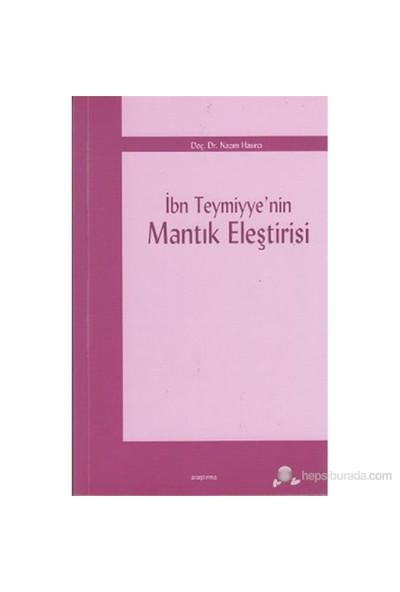 İbn Teymiyye'nin Mantık Eleştirisi