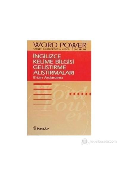 İngilizce Kelime Bilgisi Geliştirme Alıştırmaları Word Power - Ertan Ardanancı