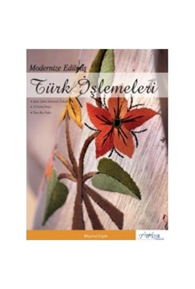 Modernize Edilmiş Türk İşlemeleri - Müşerref Ergün