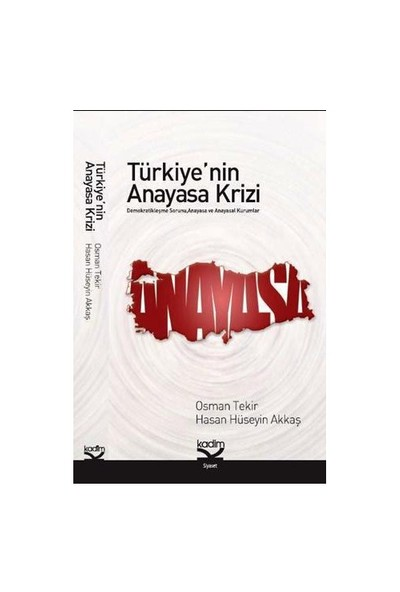 Türkiye'Nin Anayasa Krizi-Osman Tekir