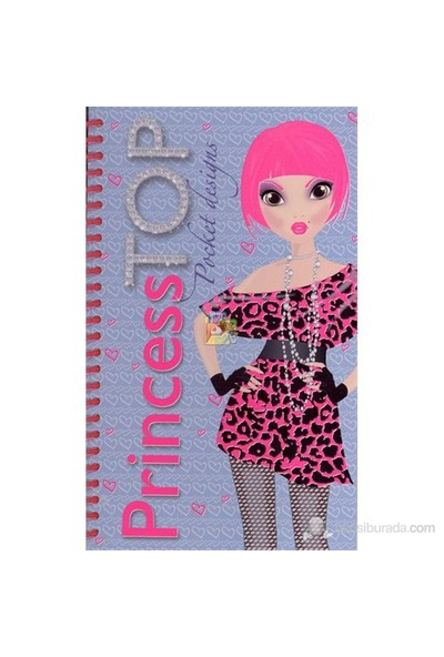 Princess Top Pocket Desings - Mavi