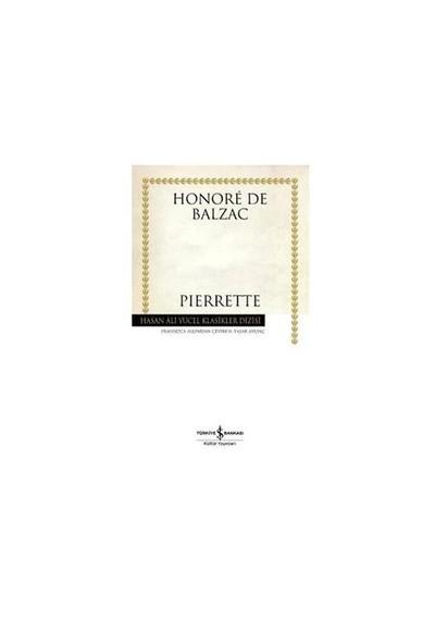 Pierrette (Ciltli)-Honore De Balzac