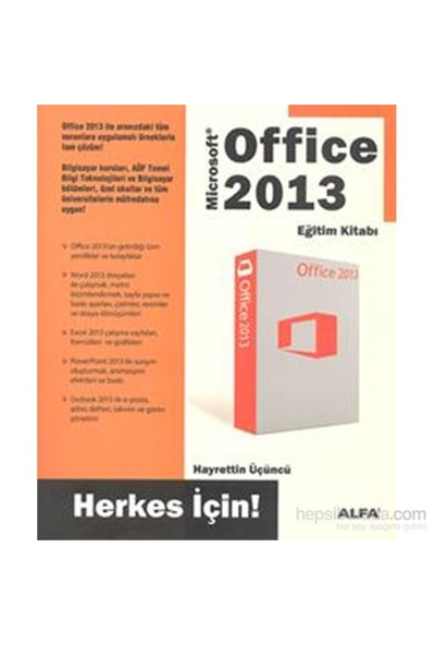 Office 2013 - Eğitim Kitabı - Hayrettin Üçüncü