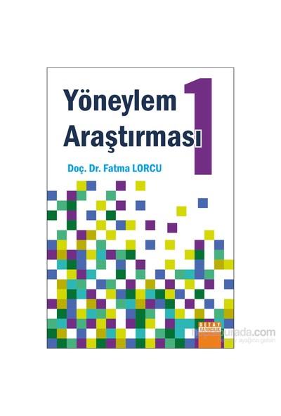 Yöneylem Araştırması 1-Fatma Lorcu