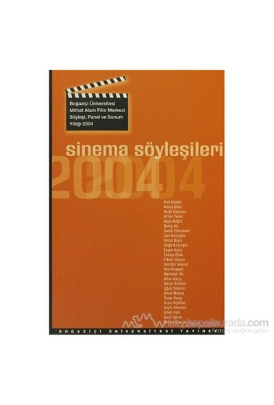 Sinema Söyleşileri 2004-Kolektif