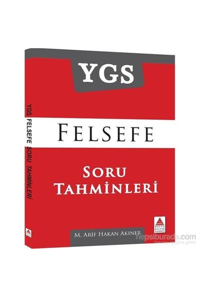 Ygs Felsefe Soru Tahminleri-M.Arif Hakan Akıner