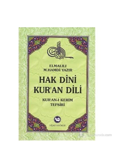 Hak Dini Kur'An Dili (10 Cilt Takım) (Kur'An-I Kerim Tefsiri)-Elmalılı Muhammed Hamdi Yazır