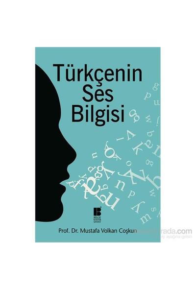 Türkçenin Ses Bilgisi-Mustafa Volkan Coşkun