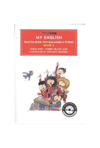 My English (Practice Book with Dialogues & Stories Grade-4)
