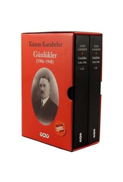 Günlükler 1906-1948 (2 Cilt) - Kazım Karabekir