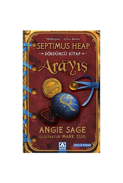 Arayış - Septimus Heap / Dördüncü Kitap