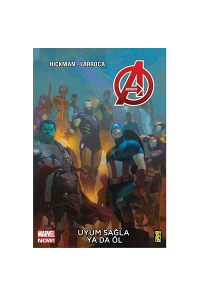 Avengers 5: Uyum Sağla Ya Da Öl Türkçe Çizgi Roman-Jonathan Hickman