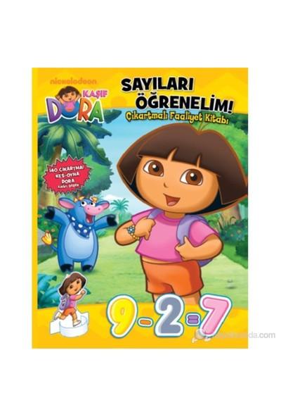 Dora Sayıları Öğrenelim - Çıkartmalı Faaliyet Kitabı-Kolektif