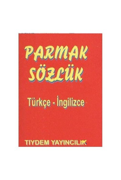 Parmak Sözlük (Türkçe-İngilizce)-Yuliya Yaşar