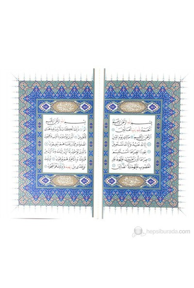 Kur'an-ı K. Hatim Seti 30. Cüz Hamit Aytaç Hattı (Orta Boy)