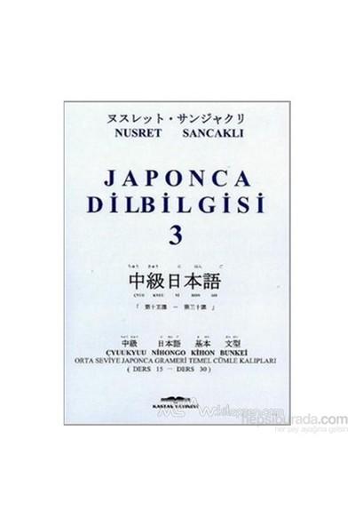 Japonca Dilbilgisi 3-Nusret Sancaklı