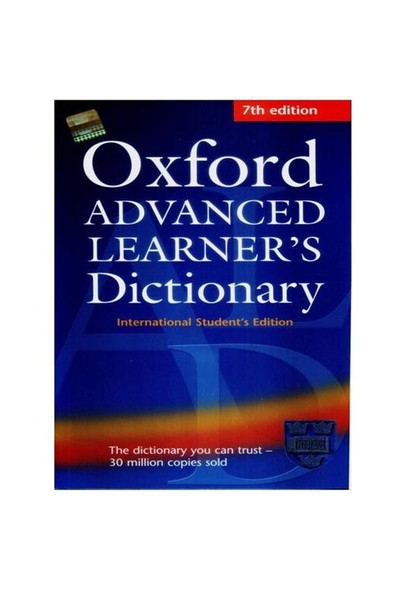 Oxford Advanced Learner's Dictionary 7ed. (Ciltsiz)