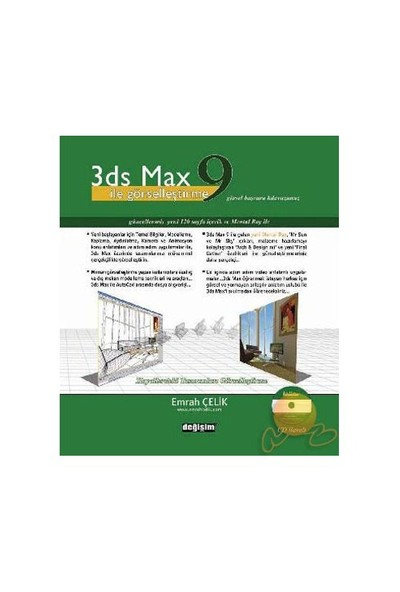 3 DS MAX 9 İLE GÖRSELLEŞTİRME