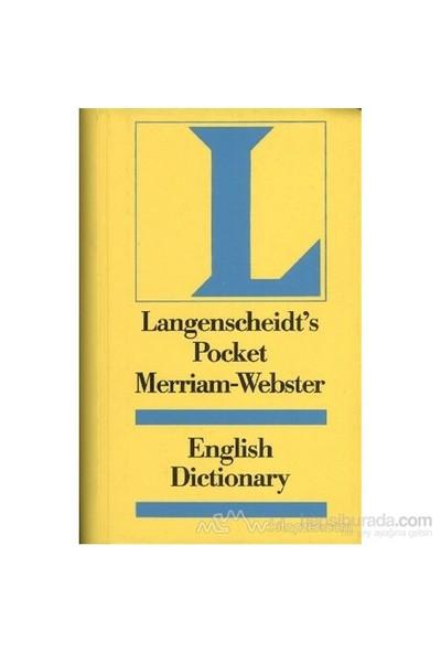 Langenscheidt Pocket Merriam-Webster Dictionary The World Famous English Dictionary-Kolektif