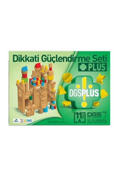 Dikkati Güçlendirme Seti Plus 11 Yaş Kitap (3 Kitap) - Osman Abalı