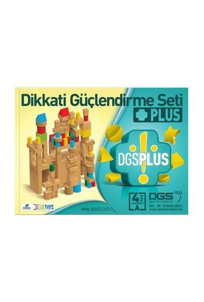 Dikkati Güçlendirme Seti Plus 4 Yaş Kitap (3 Kitap) - Osman - Osman Abalı
