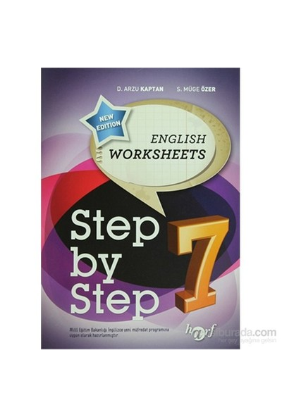 Step By Step 7: English Worksheets-S. Müge Özer