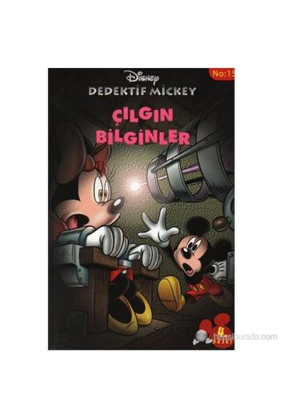 Disney Dedektif Mickey 15 Çılgın Bilginler - Sylvie Allouche