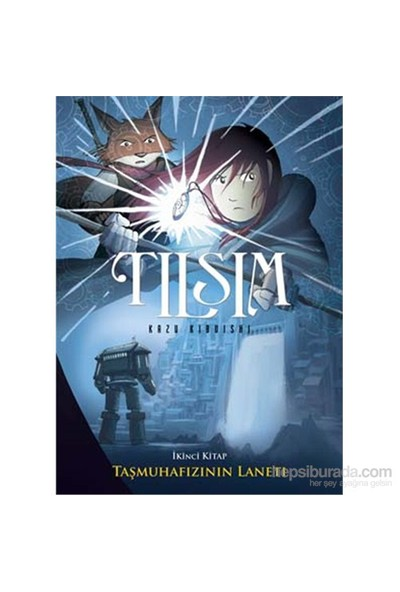 Tılsım 2. Kitap - Taşmuhafızı'nın Laneti - Kazu Kibuishi