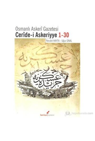 Osmanlı Askeri Gazetesi Ceride-İ Askeriyye 1-30-Necdet Hayta