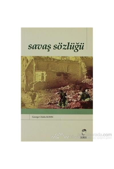 Savaş Sözlüğü-George Childs Kohn