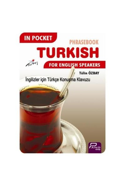 In Pocket Phrasebook Turkish For English Speakers