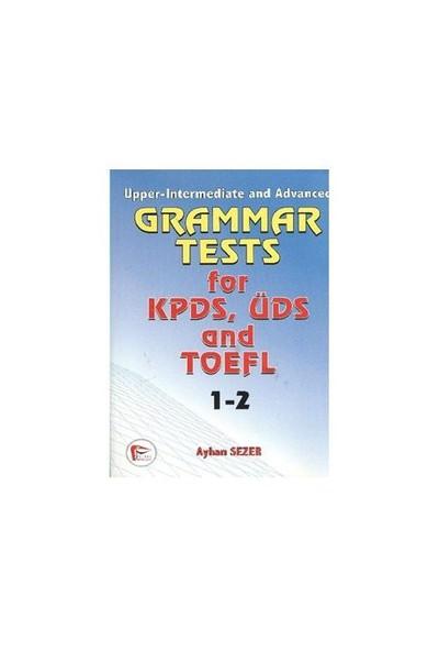 Grammar Tests for KPDS, ÜDS and TOEFL 1-2