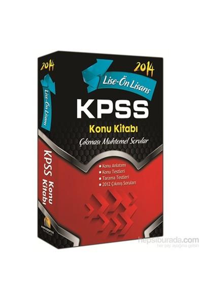 Kapadokya KPSS 2014 Konu Kitabı(Lise – Ön Lisans)